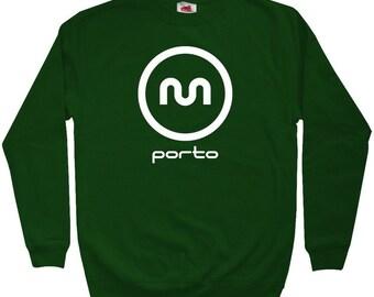 Porto Metro Sweatshirt - Men S M L XL 2x 3x - Crewneck Porto Portugal Shirt - 4 Colors