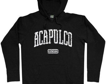 Acapulco Hoodie - Men S M L XL 2x 3x - Acapulco Mexico Hoody Sweatshirt - 2 Colors