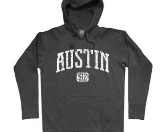 Austin 512 Hoodie - Men S M L XL 2x 3x - Austin Texas Hoody Sweatshirt - 4 Colors