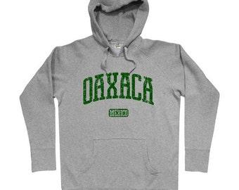 Oaxaca Hoodie - Men S M L XL 2x 3x - Oaxaca Mexico Hoody Sweatshirt - Mexican - 3 Colors