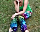 Tie Dye Pants, Boho Hippie Pants, Womens Pants