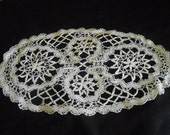 Handmade Lace Vintage lace Altered Clothing Supply Sewing Supply #10
