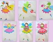 Garden Fairies 1-6 Full Set Machine Embroidery Design - 4x4, 5x7 & 6x8