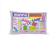 Personalized Pillowcase - Camp Pillowcase - Perfect Gift - Pillowcase Monogram-Travel Pillowcase