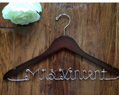 SALE, Personalized wedding hangers, Bridal Hangers, Bridal party, Wedding Gift, Bride gift,Bride, Custom made wedding Hangers, Holiday sale