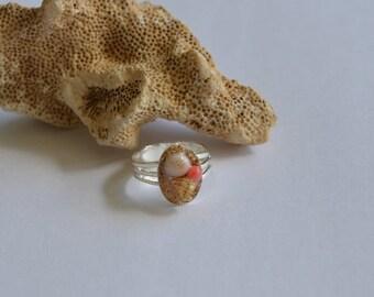 Seashell Jewelry ... Sweet Ocean Ring (1078)