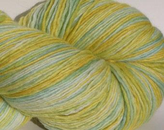 Alpaca/Merino/Silk DK weight yarn, 300 yrds. 100 g, Single Ply, Jumbo Skein