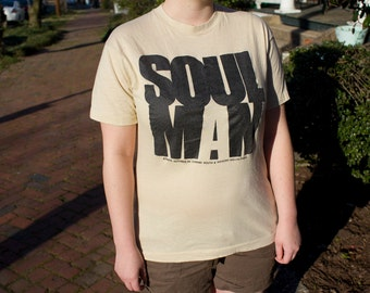 Vintage 1986 Soul Man shirt THIN 80s movie t-shirt RARE FIND