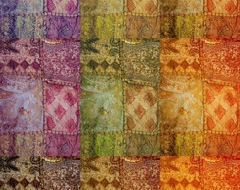 Bohemian Photo, Bollywood, Ethnic Decor, Colorful, Sari Fabric, India, Travel Photography, Fine Art Print, Gypsy Home Decor, Abstract