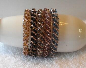 Swarovski Crystal Beaded Bracelets