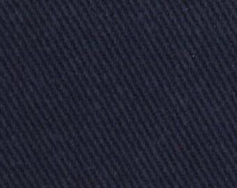"54"" Crossroads Denim, Denim Fabric, Weathered Indygo, Navy Blue Fabric, 1 yard fabric, 02038"