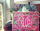 "Lilly Pulitzer ""First Impressions"" Monogram Painting"