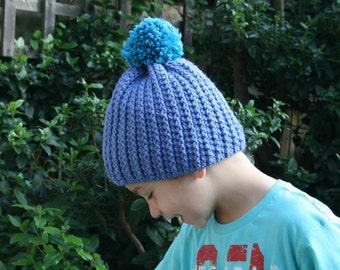 Crochet Patterns, boy crochet hat pattern, boy pattern, sizes toddler, child, adult (149)
