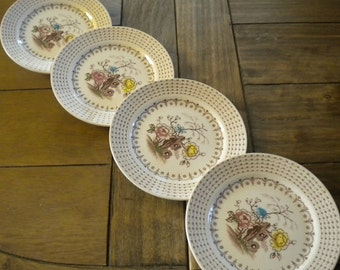 Nasco Chatham Bread and Butter Plates // Set of Four