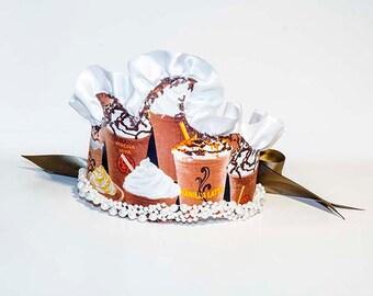 Chocolate Latte Princess Crown