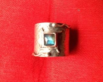 Labrodorite Handmade Artisan Ring