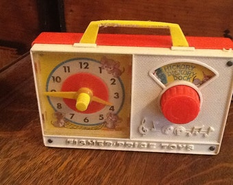 Fisher Price 1964 Musical Clock