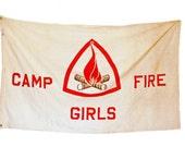1950's Campfire Girls Flag