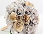Bridal Bouquet: paper flower bouquet for weddings