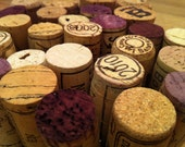natural French wine corks, used red and white wines