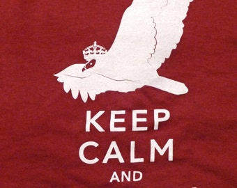 Keep Calm and Carrion t-shirts