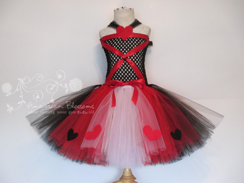 Queen Of Hearts Costume Diy Tutu Chandeliers & Pend...