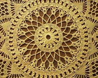 Doily Table Linen Venetian Crochet Dining Table Centerpiece Home Decor