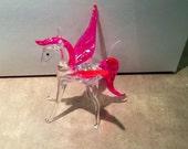Blown Glass Pegasus