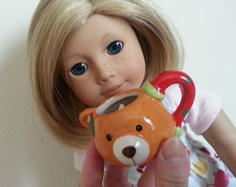 Little Holly Bear American Girl Cocoa, Hot Chocolate Mugs