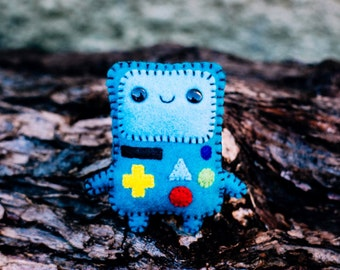 Felt BMO - Pocket Plush toy