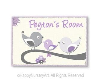 Personalized door sign, Nursery door signs, kids door plaque, door sign custom, nursery door sign, baby door hanger, personalized baby