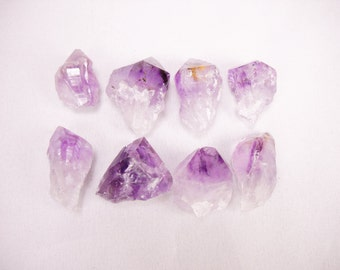 "Multipack .5""-2"" Amethyst root crystals points purple quartz gemstone rock stone mineral specimen"