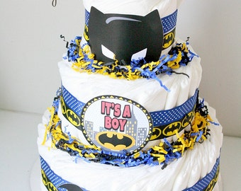 bat baby diaper cake batman diaper cake bat baby baby shower shower