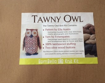 The Tawny owl kit by BomBella