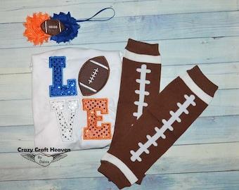 Baby Football outfit, Love football, Baby football outfit, Baby girl football outfit, Football legwarmers, Football shirt,