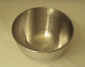 Vintage Small Stainless Steel Mixing Bowl for Hamilton Beach Electric Stand Mixer
