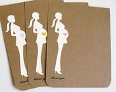 10 Mom to Be THANK YOU Cards