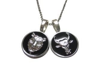 """Shop """"bear necklace"""" in Cuff Links & Tie Clips"""