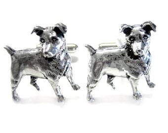 Jack Russel Dog Cufflinks