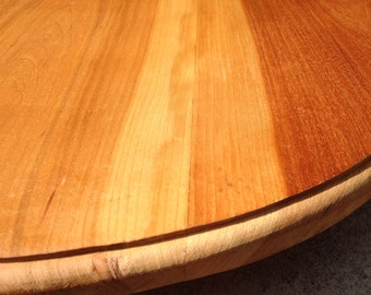 Large reclaimed wood Lazy Susan