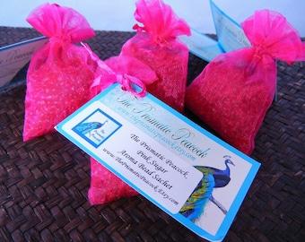 Aroma Bead Sachet Pink Sugar Scented Hot Pink Air Freshener