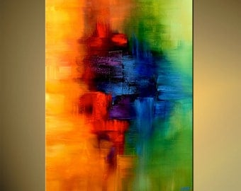 "Modern Art Poster on Photographic Paper, Childhood Memory - 30""x40"" - Art by Osnat"