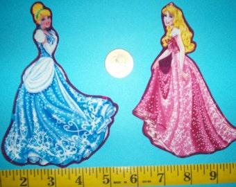 Disney Princess Iron-ons Fabric Appliques Iron-ons.