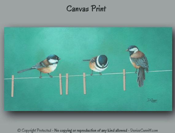 Wall Art 3 Line Of Birds : Three little birds on wire laundry room decor bathroom
