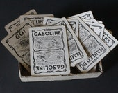 Vintage 1920's cards /card game touring/Parker Brothers