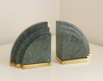 Popular items for marble bookends on etsy for Decorative crafts inc brass