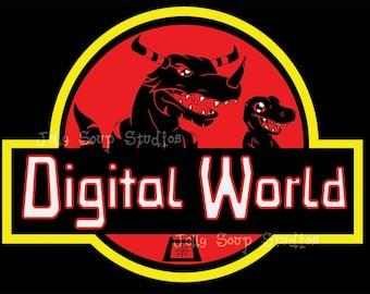 Digital World 8x10 Print