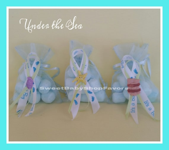 Baby Shower Favors Ocean Theme ~ Items similar to under the sea party theme