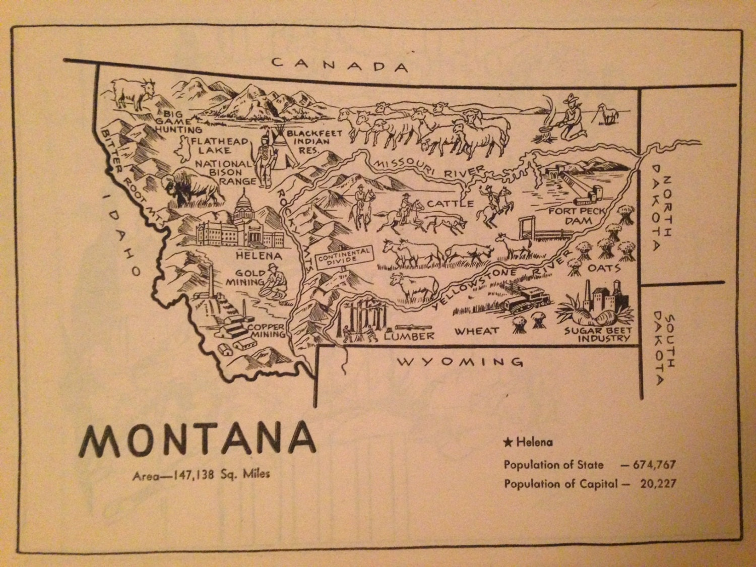 Helena montana – Montana Travel Map