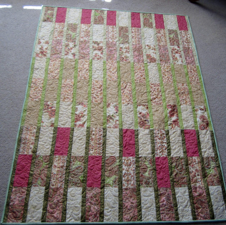 PDF pattern Fat Quarter Quilt pattern Opera by SkyHighFibers